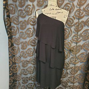 Scarlett Black One Shoulder Dress
